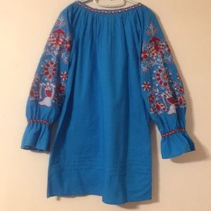 Women's size L Mexican Dress Tunic